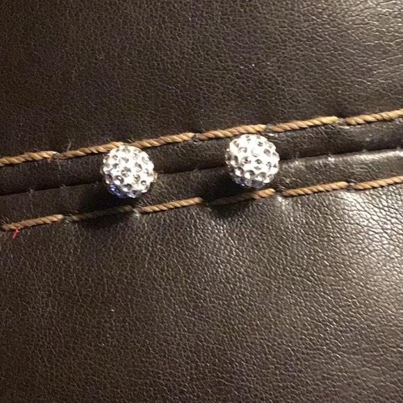 Jewelry - 14k Crystal Post Earrings